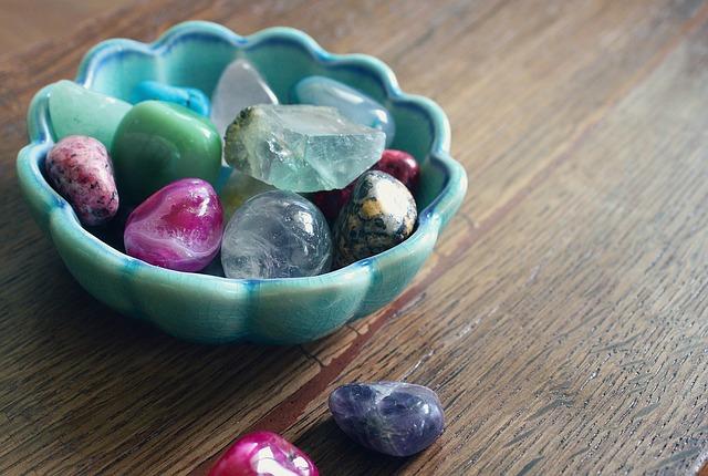 Bowl of Reiki Stones